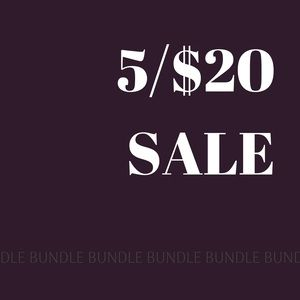 5/$20 SALE Many to choose from! Scroll down 😀